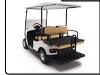 New or Used TXT with added rear seat that flips down into a deck, long top, factory light package & hinged windshield