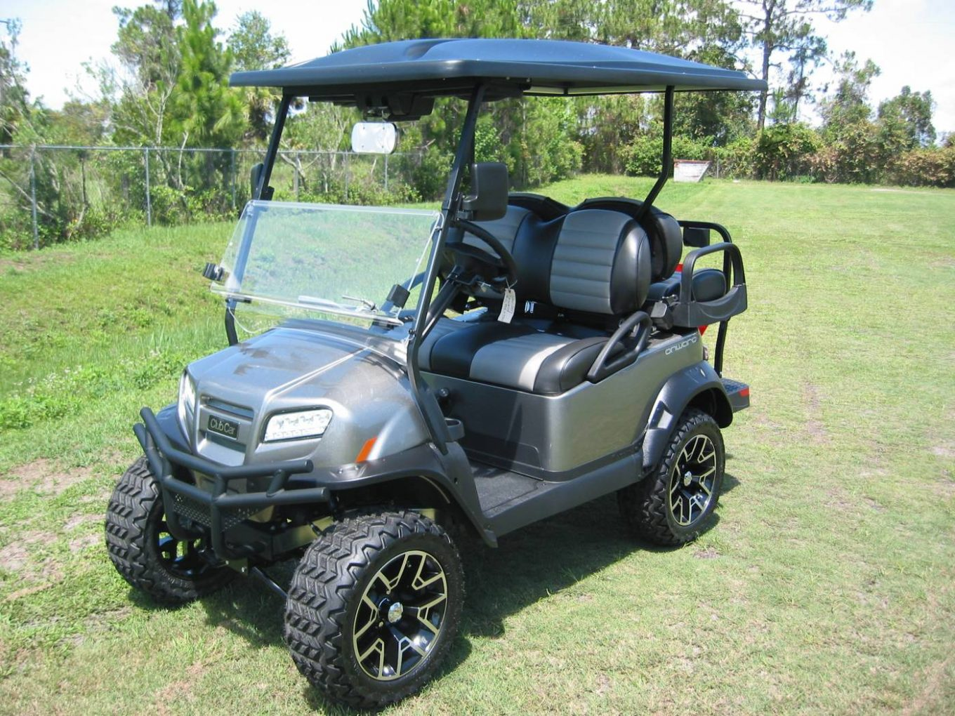 Test Drive Your Golf Carts! - Gulf Atlantic Vehicles on skid steer drive system, go cart drive system, golf cart cooling system, golf cart charging system, bobcat drive system,